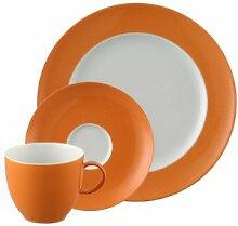 Thomas Sunny Day Orange Kaffeegedeck 3tlg.