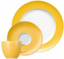 Thomas Sunny Day Yellow Kaffeegedeck 3tlg.