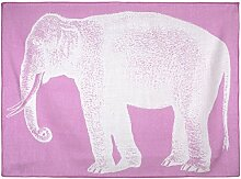 Thomaspaul Babydecke Elefant rosa