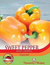 Thompson & Morgan Gemuse Paprika Sweet Gourmet 10
