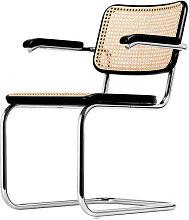Thonet Freischwinger S64 braun, Designer Marcel