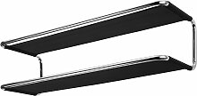 Thonet - S 1521 Garderobe / Schuhregal, Netzgewebe, schwarz
