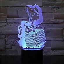 Thor Hammer 3D LED Licht Nachtlicht Optische