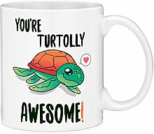 Thorea Du bist Turtolly Awesome Turtle Pun Zitat