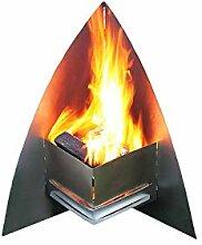 Thorwa® Design Edelstahl Feuerstelle Feuerkorb