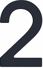 Thorwa® Design Edelstahl Hausnummer modern Avant