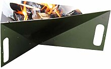 Thorwa® Design Feuerschale Triangle 75cm aus
