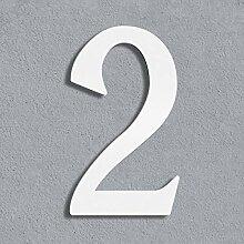 Thorwa® moderne Design Edelstahl Hausnummer