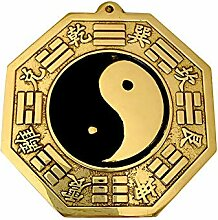 THREE Kupfer Bagua Spiegel konkav Feng Shui