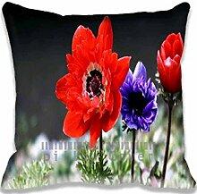 Three Sisters Pillow Case Sofa Waist Throw Cushion Cover Home D¨¦cor 18x18(2 Sides)