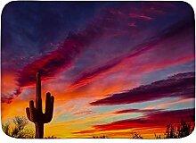 Throwpillow Badematte rutschfeste Arizona Saguaro