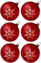 Thüringer Glasdesign Weihnachtsbaumkugel