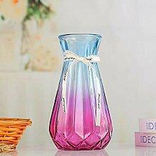 THUK Simple Gradient Vase, Origami-Glasvase,