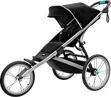 Thule Glide² Kinderwagen schwarz