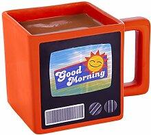 Thumbs Up A0001313 Tasse Retro TV Mug