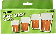 Thumbs Up PINTSHOT4 Schnapsglas - Pint Shots, 4-er