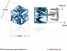 Thumby Mode Trend Ohrringe Einfachen Diamanten,