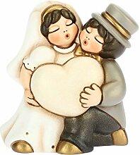 Thun ® Kleine Brautpaar mit personalisierbarem