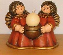 THUN Nelli Engelpaar rot mit Kerze