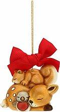 THUN Weihnachtsbaum, Wachstuch mit Schale und