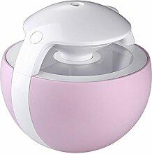 THUNFER Luftbefeuchter Luftreiniger Usb Verfärbung Mini Hause 12 6 * 12 6 * 12 Cm,Pink-ABS