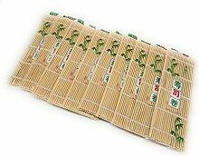 Thy Sammlerstücke Sushi-Ausrollmatte natur Bambus
