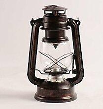 TIAMO Home Store Vintage Handmade Pferd Lampe Retro Kelp Lampen Camping Licht Home Dekoration Bars Fenster Tischleuchte ( Farbe : Retro )