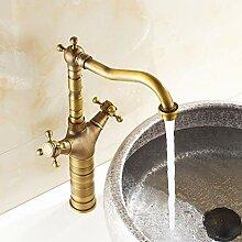 TIANDI Antique Brass Bad Centerest Waschbecken