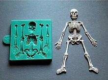 TIANDI Halloween Skelett Körper Fondant Form DIY