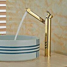 TIANDI Hohe Badezimmer Waschbecken Wasserhahn 360