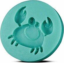 TIANDI Krabbenform Praline Candy 3D Silikonform