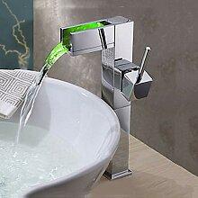 TIANDI Waschbecken Wasserhahn Chrom-Finish