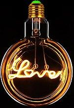 Tianfan LED-Glühbirne, Vintage-Glühbirne,