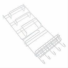 TIANFGCWJ Ablagefach Kühlschrank Hanging Rack
