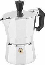 Tianhaik Espressomaschine Moka-Kanne 30 Ml 1 Tasse
