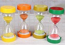 Tianher Sanduhren Buntes Sanduhr Set 20 Minuten