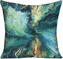 TIANHOME Cushion Cover Pillow Cover Colorful World