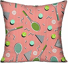 TIANHOME Cushion Cover Pillow Cover Tennis Match