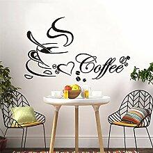 Tianpengyuanshuai Kaffee Aufkleber Wohnzimmer