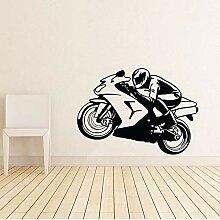 Tianpengyuanshuai Motorrad Fahrrad Wandaufkleber