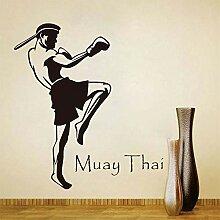 Tianpengyuanshuai Muay Thai Player wandaufkleber