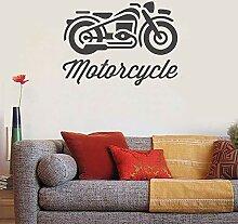 Tianpengyuanshuai Wandtattoo Motorrad