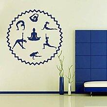 Tianpengyuanshuai Wandtattoos Yoga Studio