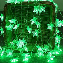 TianranRT 2M 20 LED Kristall klar Stern Fee Schnur