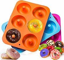 TianranRT 3PC Silikon Donut Backen Pfanne Antihaft