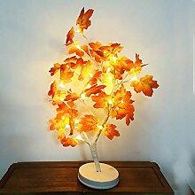 TianranRT Ahorn Blatt Topf Licht Blüte