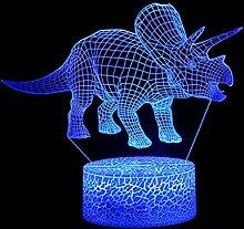 TianranRT Dinosaurier LED 3D Beleuchtet Lampe