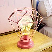 TianranRT Kreativ Schreibtisch Lampe Bügeleisen