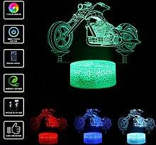 TianranRT LED 3D Beleuchtet Lampe Optisch Illusion