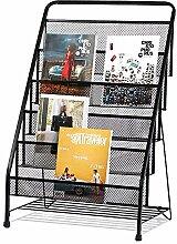 TIANXIANSHENG Bücherregal-Leiterhölzerne Wand